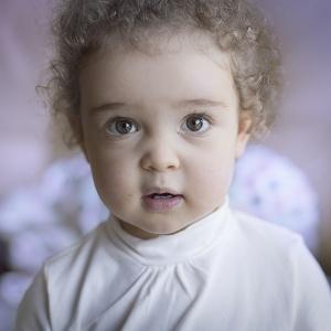 Portrait Regard d'enfant Bébé