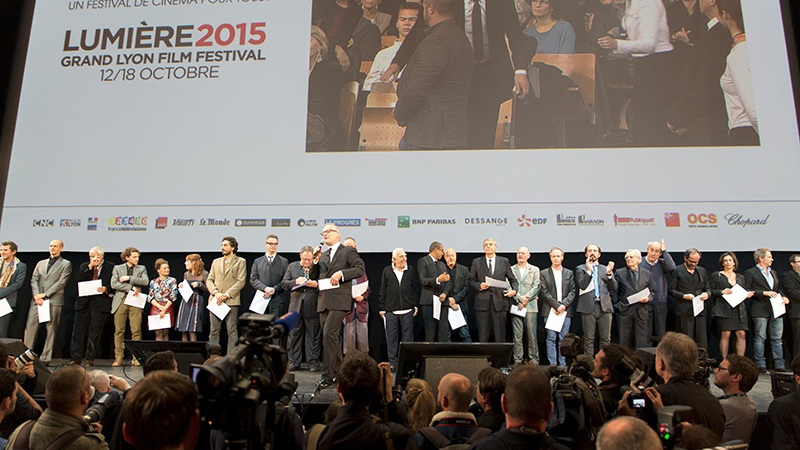 Festival Lumières 2015, Audiard, Lindon, Belmondo, Lasseter